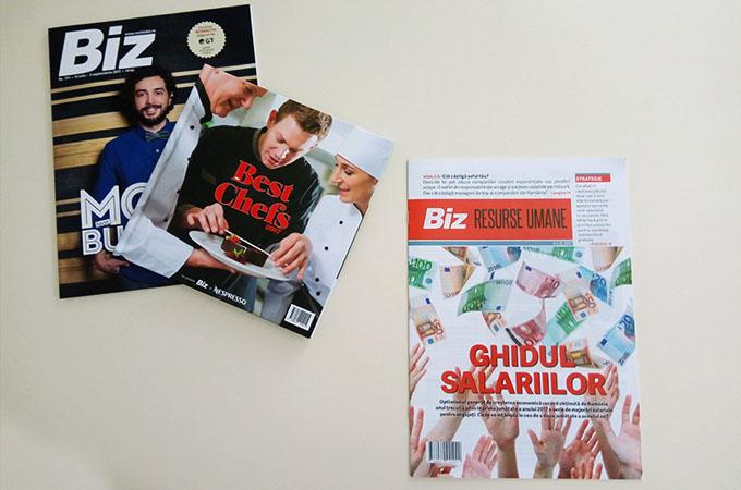 Revista Biz - Ghidul Salariilor